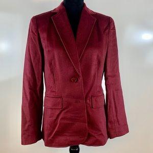Spiegel wool/cashmere blazer size 6